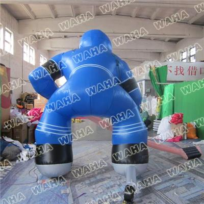 Inflatable Hockey Boy Player Inflatable Hockey Sporter