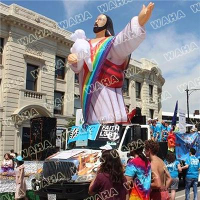 4m High Inflatable Jesus For Christmas Exhitbiion Inflatable God
