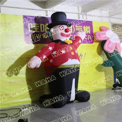 3m High Inflatable Punching Clown For Party Decoration For Kids