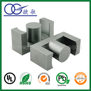 EE/EF/EPC/EFD/EDR/PQ/RM/ETD/POT ferrite core magnets used for the transformer ferrite core