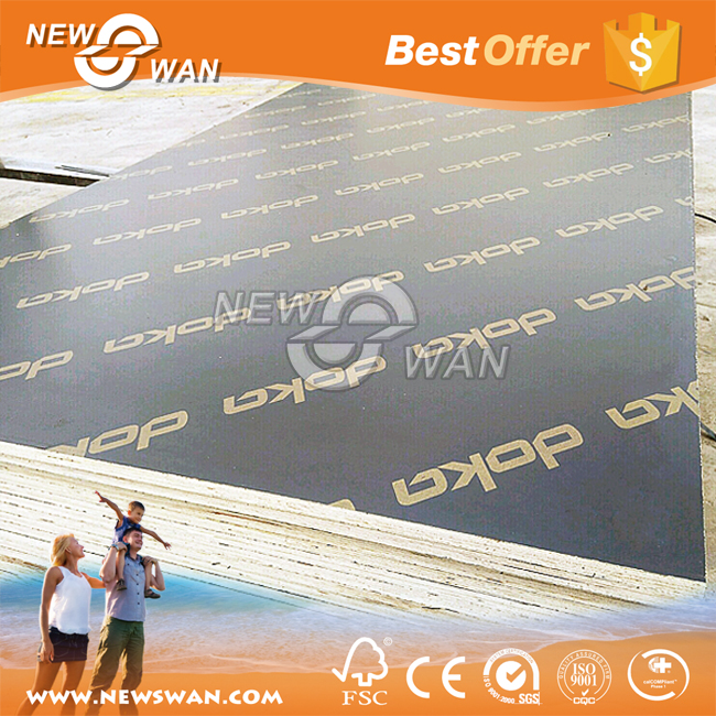 18mm Black Film Faced Plywood with WBP Glue