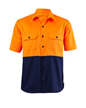Chef Jacket Short Sleeve with Snap Button Closer