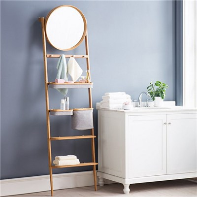 Bamboo Mirror Rack