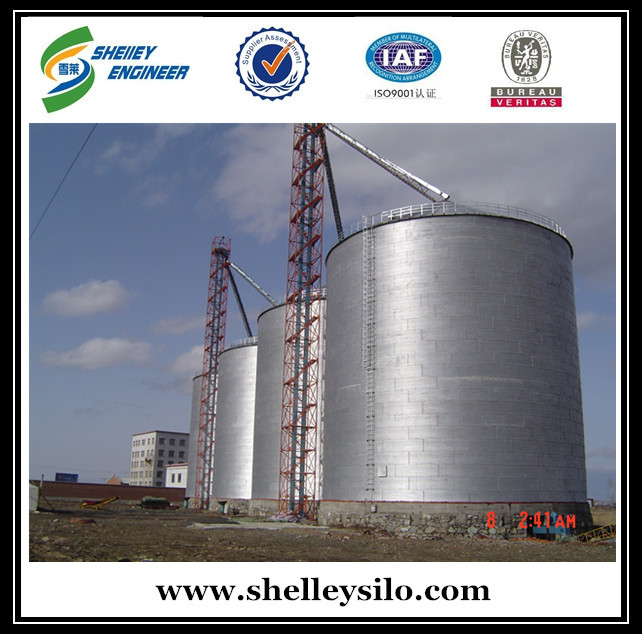 Farm Used Galvanized Steel Grain Storage Silo