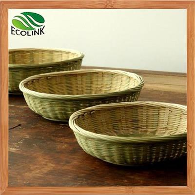 Weaving Bamboo Krafts Storage Basket