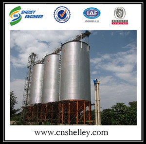 Cone bottom PVC Plastic storage Silos For Sale
