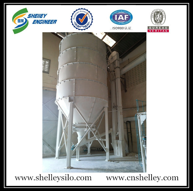 assembly flour silos used in wheat flour mill