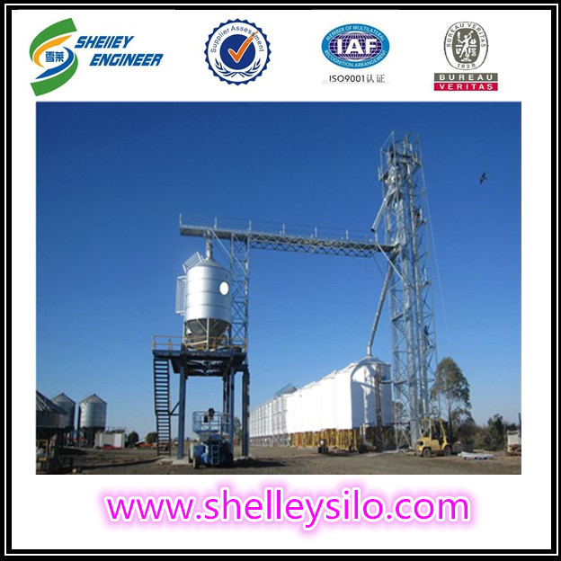Chicken feed grain elevator for poultry farm sale