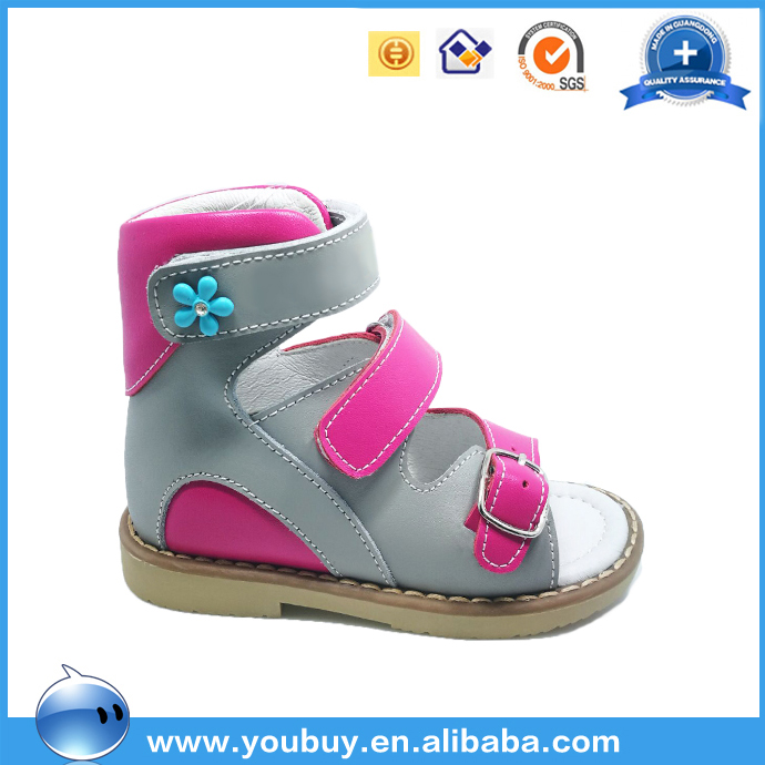 Fashionable Italian Summer Sandals For Girls,Anti-Varus Orthopedic Shoes For Kids 2017 Summer