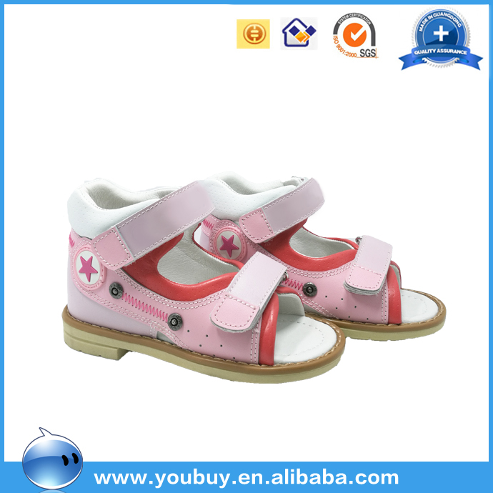 China Market Girls Orthopedic High Ankle Medical Shoes Sandals