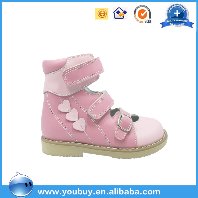 Ankle support Fashion orthopedic shoes children shoes guangzhou