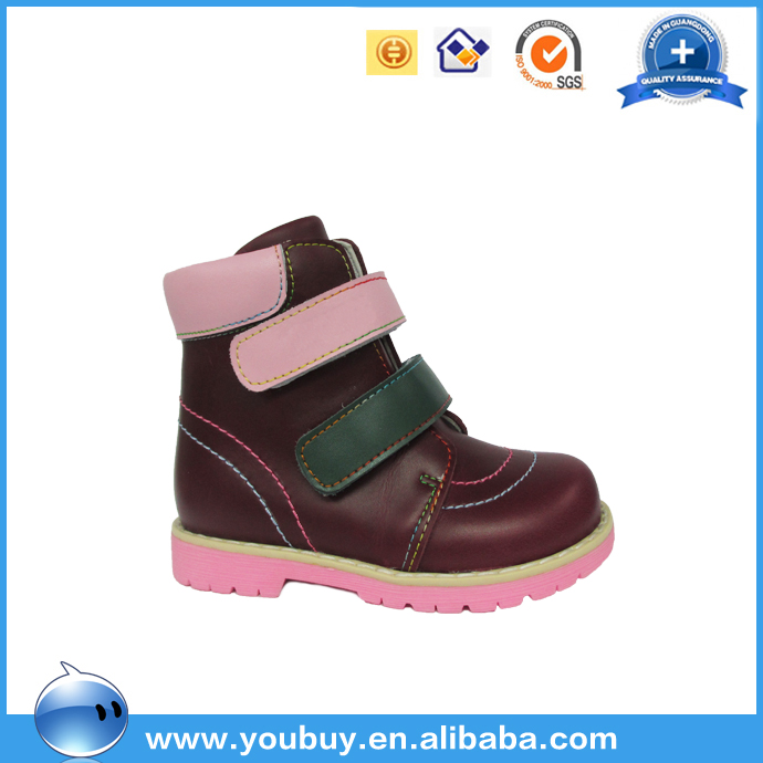 Pink Cute Baby Orthopedic Arch Support Spring Shoes For Kids Children Latest Footwear