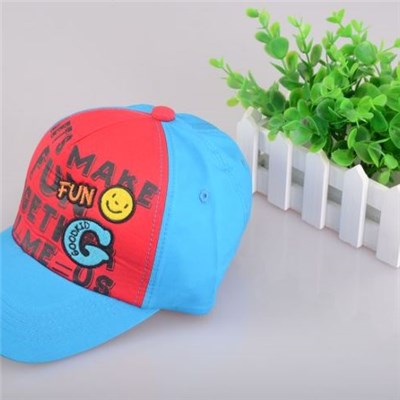 Kid's Hip-hop Baseball Cap With Cute Pattern