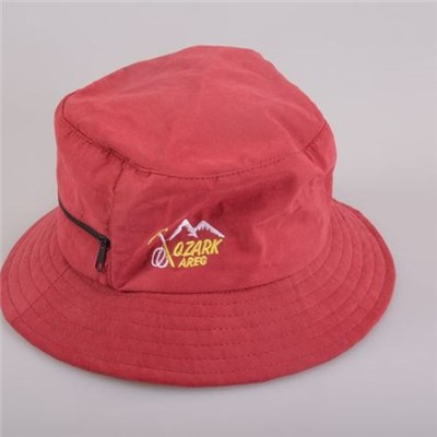 Men's 100% Cotton Customized Bucket With Outdoor Sunshade/softening Sunshine Effect