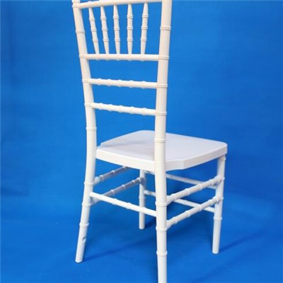 Transparent Swivel Crystal Chiavari Chair Made By Resin