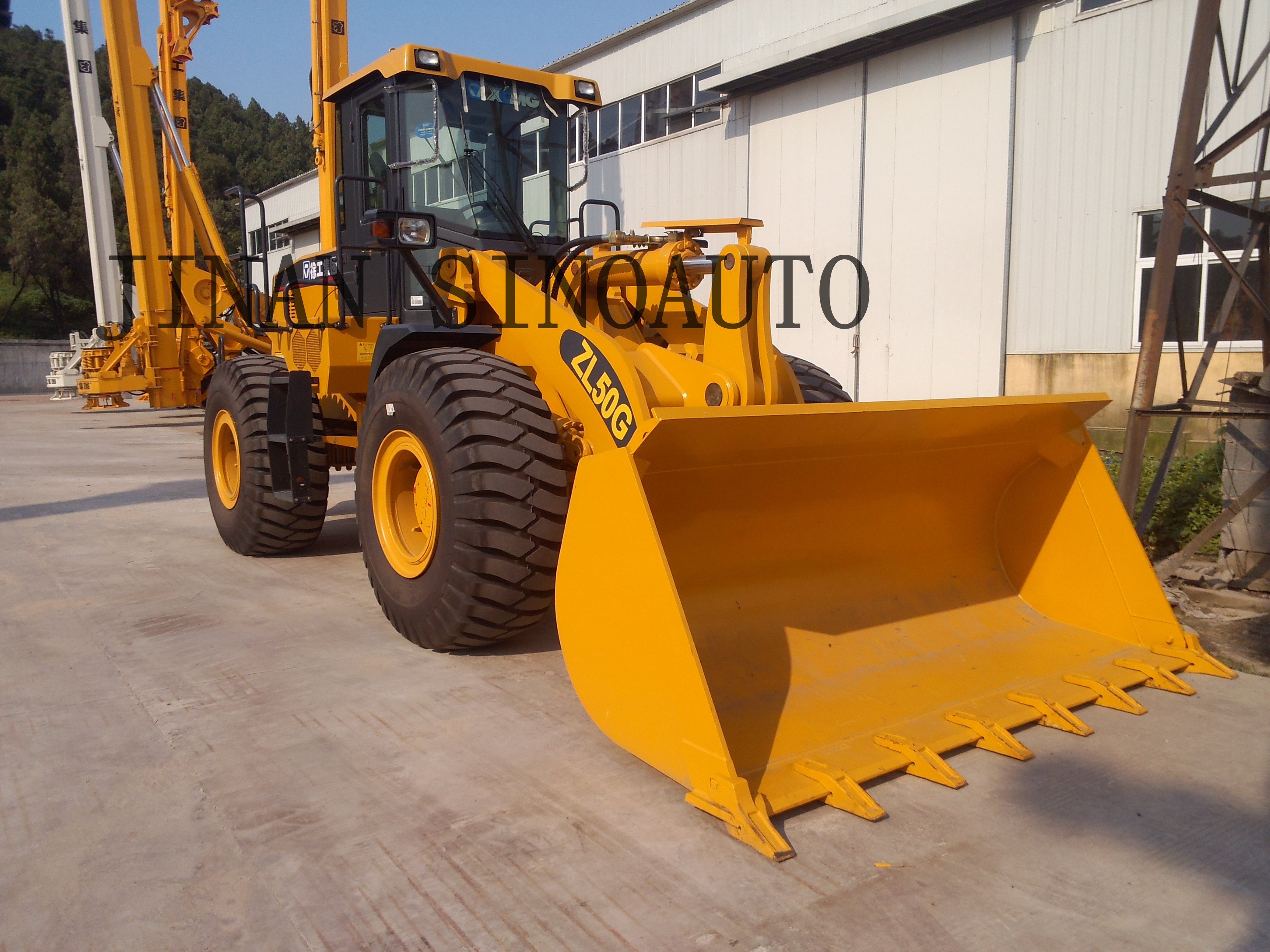 XCMG ZL50G wheel loader spare parts