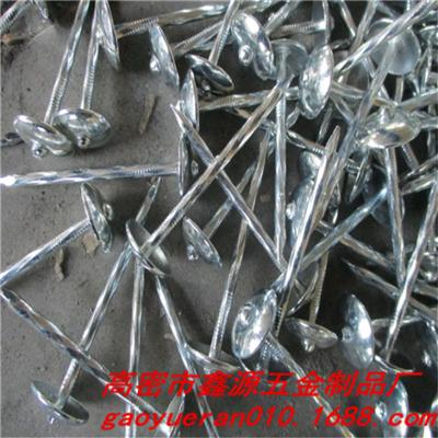 BWG 9 X 2.5 Shingle Ring Shank Roofing Nails