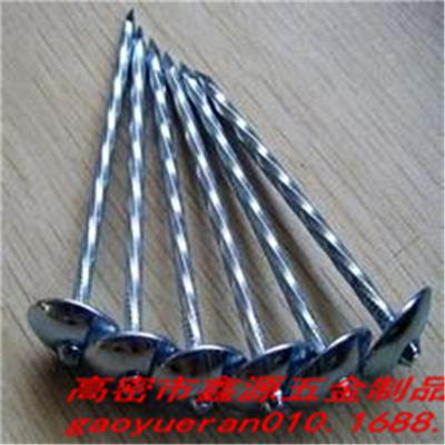 BWG 9 X 2'' Electro Galvanized Twist Roofing Nails