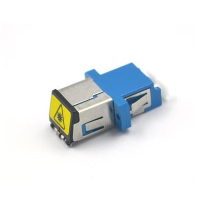 LC Fiber Optic Adapter With Shutter