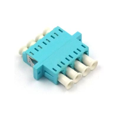 LC/UPC Multimode OM3 Quad Fiber Optical Adapter
