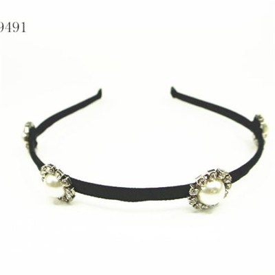 Fashion Pearl Hair Band Customized Designs are Accepted
