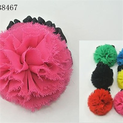 Fashion candy color ladys hair bands,made of chiffon,factory supply,various colors sizes