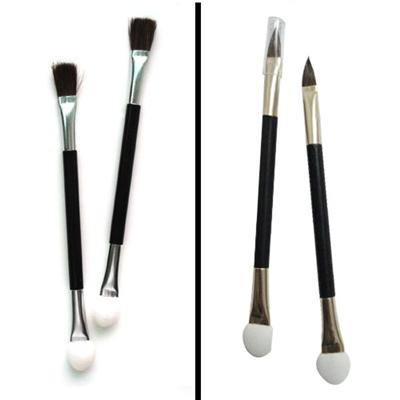 Eyeshadow Brush With Sponge Applicator