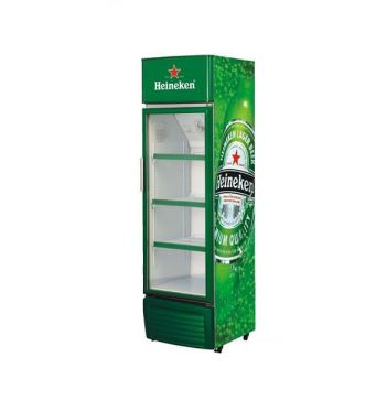 Single Glass Door Front Beverage Refrigerator SC-335
