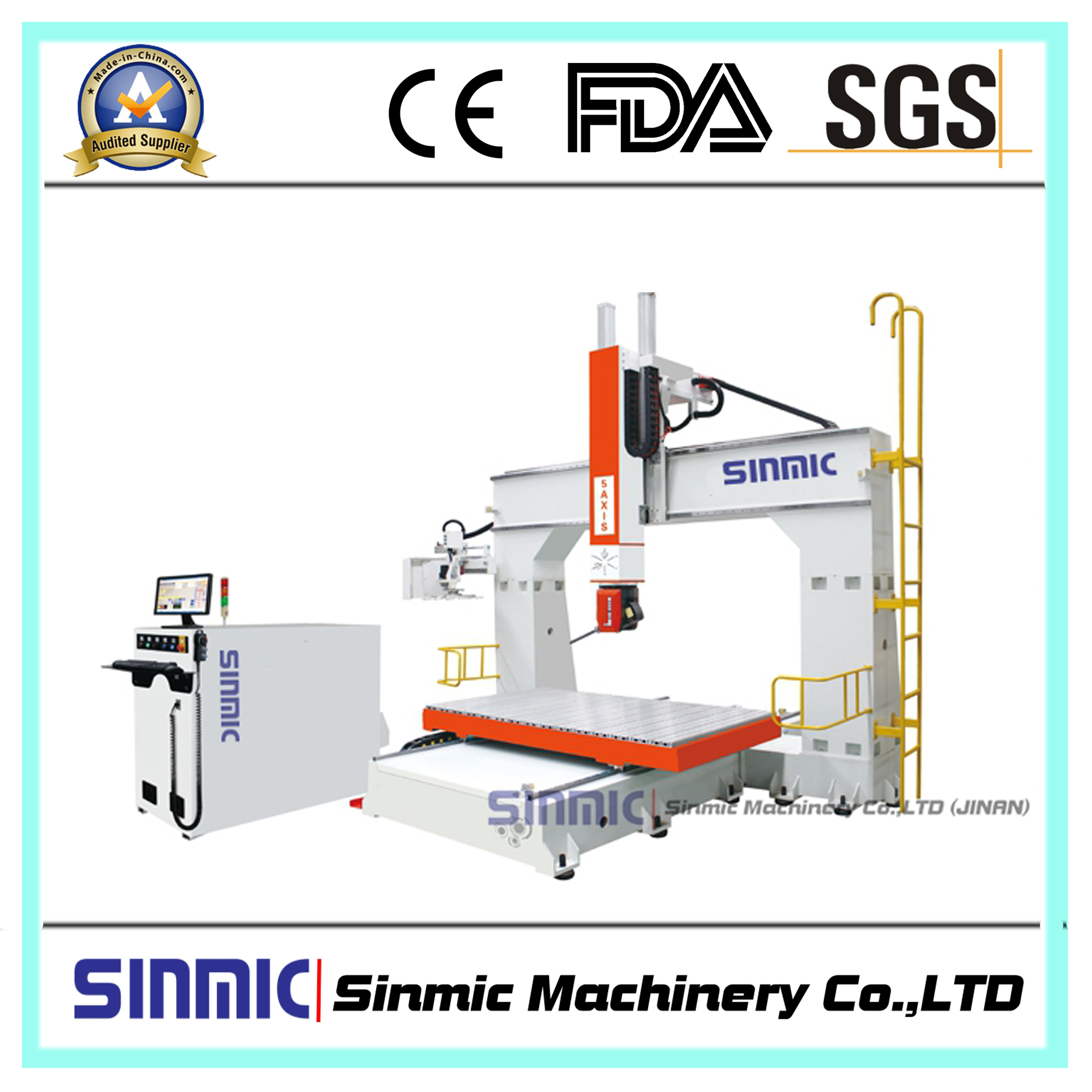 5 axis cnc router2017 new type
