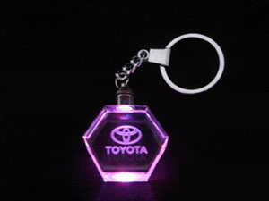 Hexagon Wholesale Crystal KeyChain