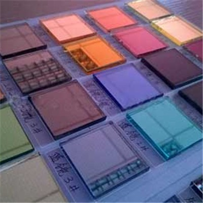 Beveled Colored Glass Mirror Sheet