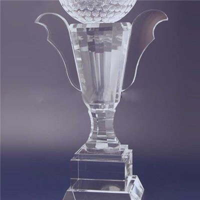 Glass Cup Trophy