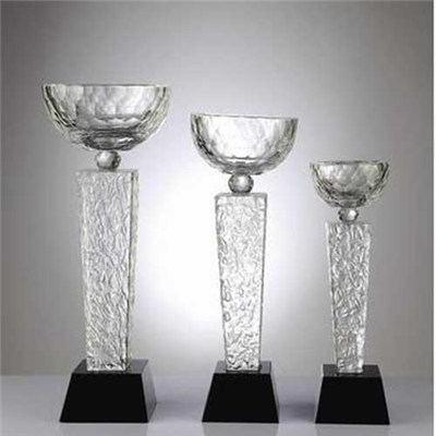 Glass Cup Award For Football Sport Souvenirs