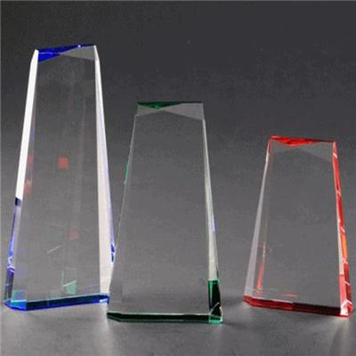 Blank Glass Plaque