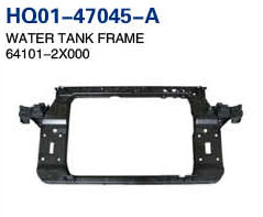 IX35 2011 Radiator Support, Water Tank Frame, Panel (64101-2X000, 64101-3S000, 64101-2Y000)