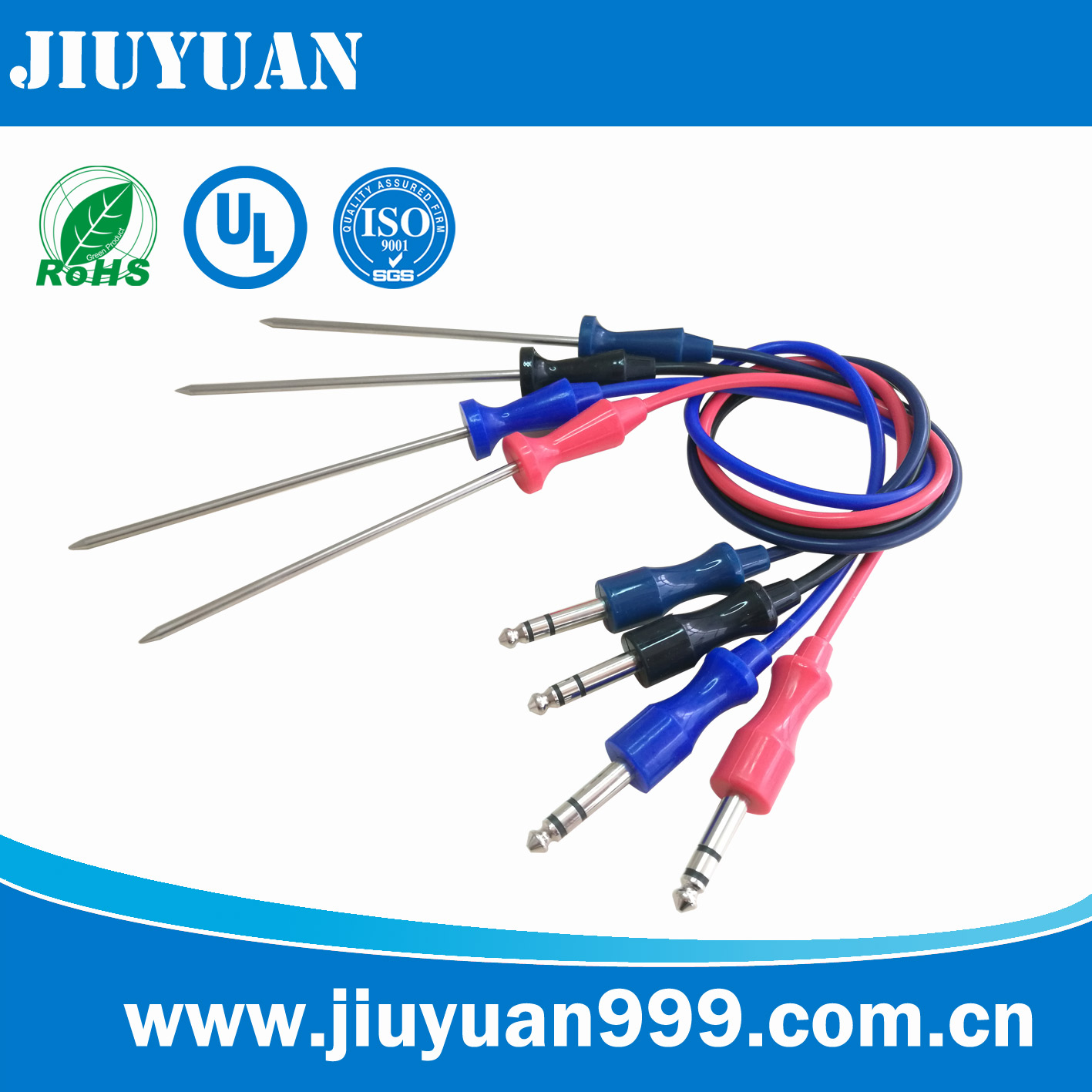 stereo meat probe sensor for oven/toaster/mircowave oven/bread machine