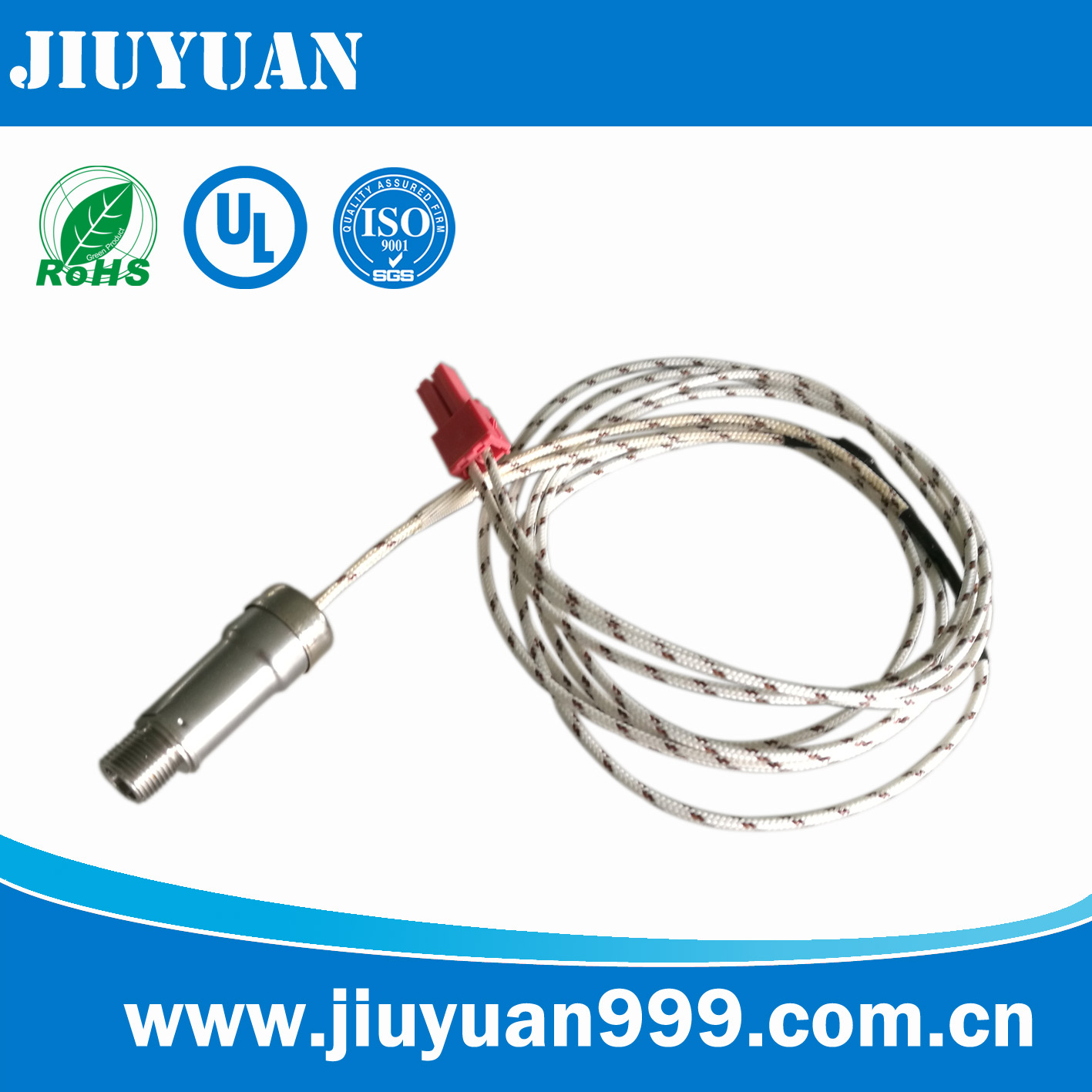 Temperature sensor receptacle / plug socket for oven / toaster / mircowave oven / bread machine