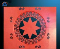 CNC Cutting Hollowed Aluminum Panel