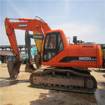 Used Hydraulic Excavator Doosan 220LC-7 For Sale