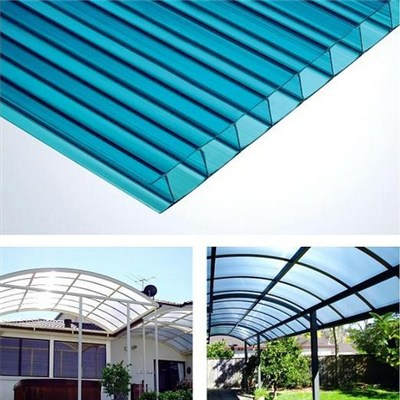 Recycled Polycarbonate Hollow Sheet for Greenhouse Roofing Cover