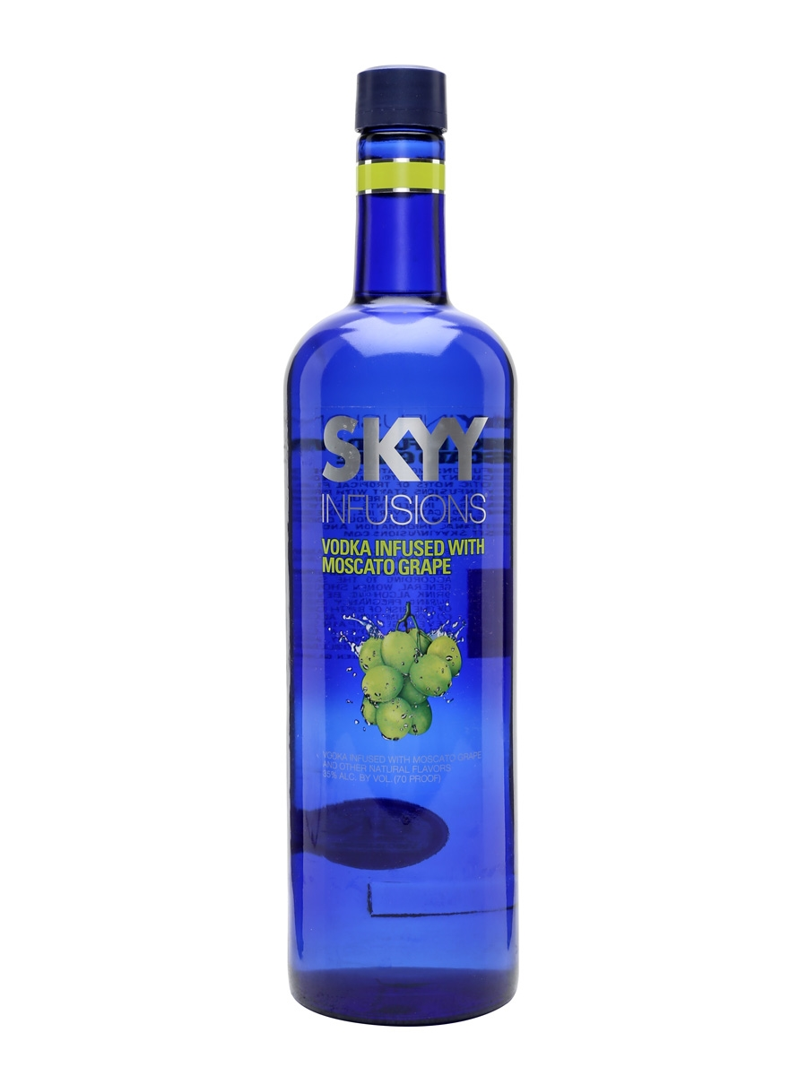 SKYY MOSCATO GRAPE  Litre 100cl / 35%