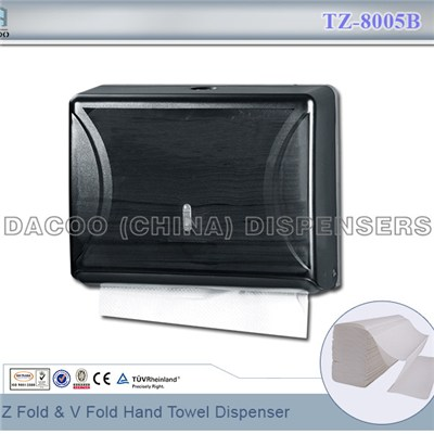 TZ-8005B Z Fold & V Fold Hand Towel Dispenser