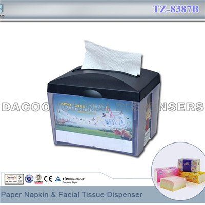TZ-8387B Paper Napkin & Facial Tissue Dispenser