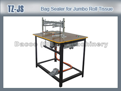 TZ-JS Bag Sealing Machines For Jumbo Toilet Tissue Paper Roll