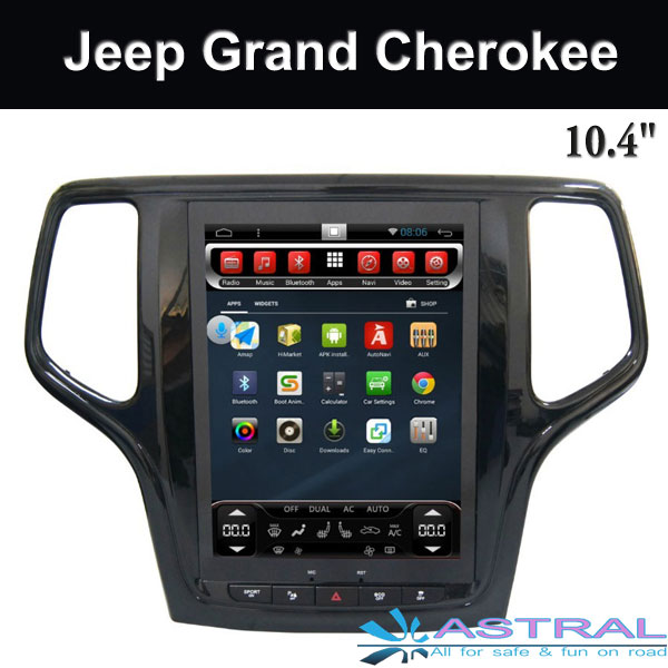 OEM Car Gps Navigation Jeep Multimedia System Grand Cherokee