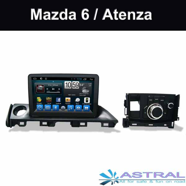 China Suppliers Mazda 6 Touch Screen Radio System Atenza 2016 2017