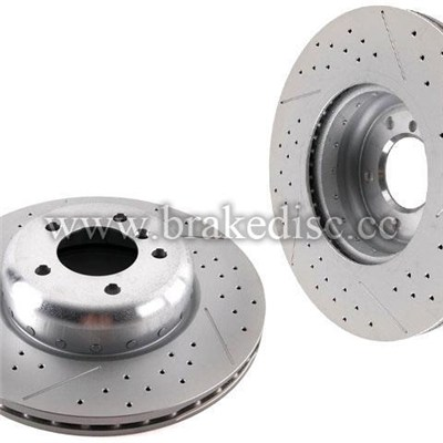 Brake Disc Rotor for Mercedes-Benz
