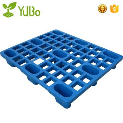 1200*1000mm Vented Top 9 Feet Nestable Euro Plastic Pallet