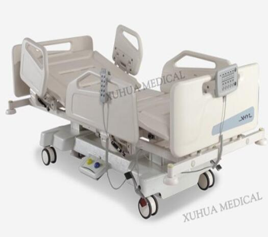 Column motors Five Functions Electric Hospital Patient Bed  with CPR Model: XHD-2A