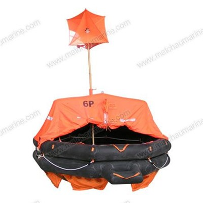 CCS/EC Approved A type Throw Over Board Inflatable Life Raft